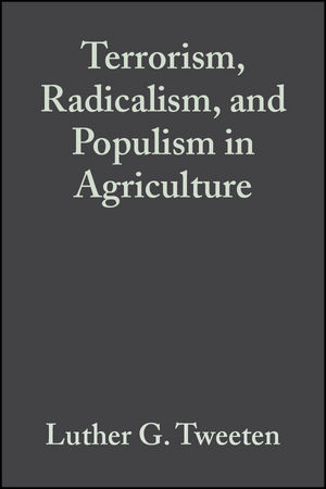Terrorism, Radicalism, and Populism in Agriculture (047038476X) cover image
