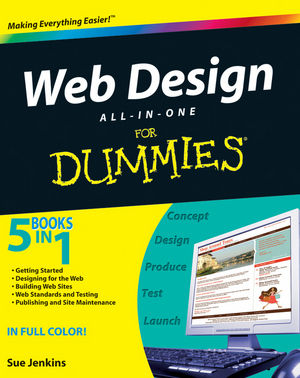 Web Design All-in-One For Dummies (047041796X) cover image