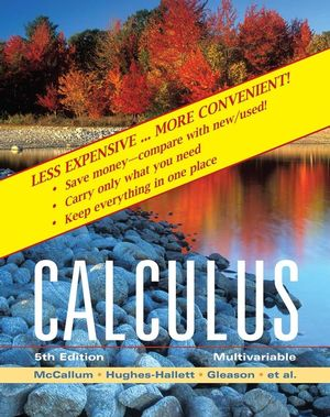 Multivariable Calculus, 5th Edition Binder Ready Version