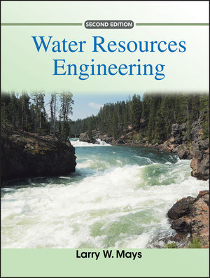 Water Resources Engineering, 2nd Edition (047057416X) cover image