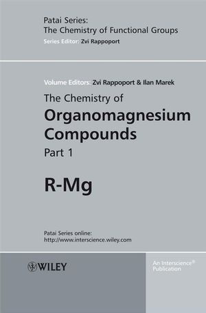 The Chemistry of Organomagnesium Compounds (047075186X) cover image