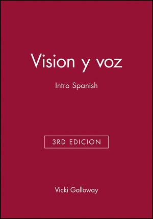 Vision y voz: Intro Spanish, Audio CD Set, 3rd edicion