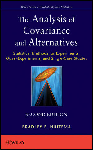 The Analysis of Covariance and Alternatives: Statistical Methods for Experiments, Quasi-Experiments, and Single-Case Studies, 2nd Edition