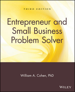 Entrepreneur and Small Business Problem Solver, 3rd Edition (047176356X) cover image