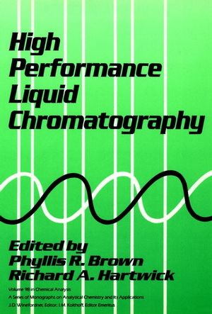 High Performance Liquid Chromatography  (047184506X) cover image