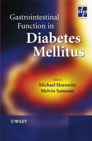 Gastrointestinal Function in Diabetes Mellitus (047189916X) cover image