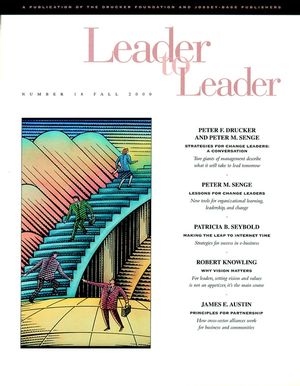 Leader to Leader (LTL), Volume 18, Fall 2000
