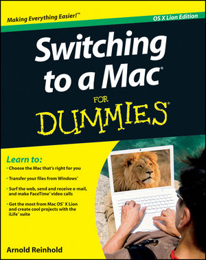 Switching to a Mac For Dummies, Mac OS X Lion Edition (111802446X) cover image