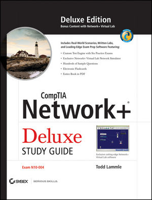 Book Cover Image for CompTIA Network+ Deluxe Study Guide: Exam N10-004