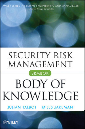 Security Risk Management Body of Knowledge (111821126X) cover image
