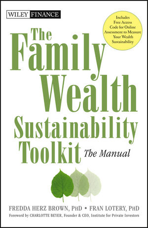 Book Cover Image for The Family Wealth Sustainability Toolkit: The Manual