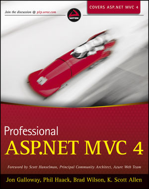 Professional ASP.NET MVC 4 (111834846X) cover image