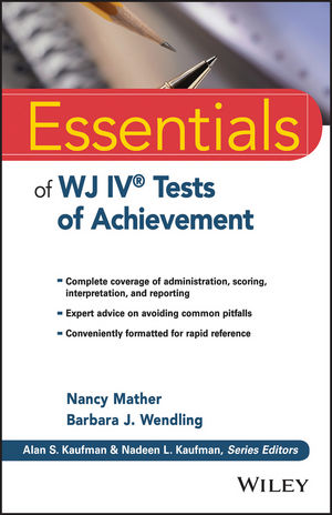 Essentials of WJ IV Tests of Achievement (111879916X) cover image
