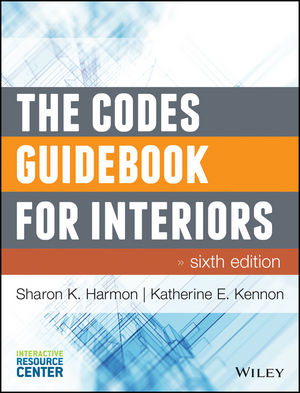 The Codes Guidebook for Interiors, 6th Edition (111880936X) cover image