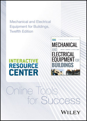 Mechanical and Electrical Equipment for Buildings, 12e with Interactive Resource Center Access Card (111899616X) cover image