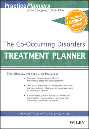 The Co-Occurring Disorders Treatment Planner, with DSM-5 Updates (111907486X) cover image