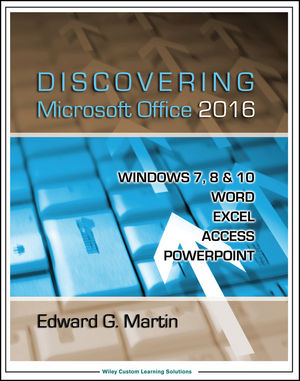 Discovering Microsoft Office 2016 (111920206X) cover image