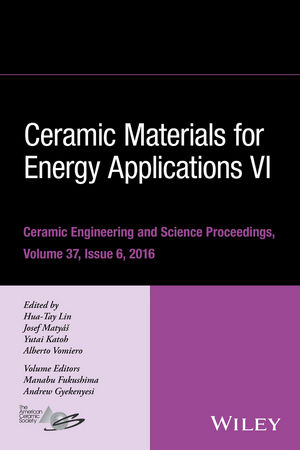 Ceramic Materials for Energy Applications VI, Volume 37, Issue 6 (111932176X) cover image