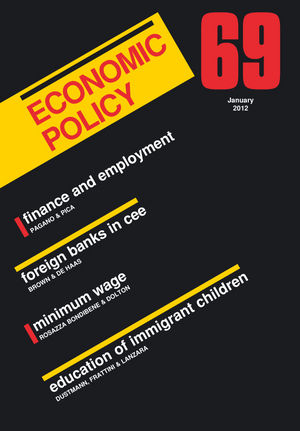 Economic Policy 69 (144435096X) cover image