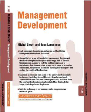 Management Development: Training and Development 11.5