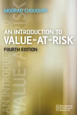 An Introduction to Value-at-Risk, 4th Edition (0470033770) cover image