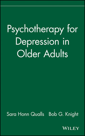 Psychotherapy for Depression in Older Adults (0470037970) cover image