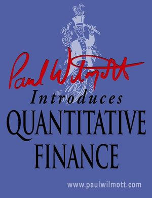 Paul Wilmott Introduces Quantitative Finance  (0470065370) cover image