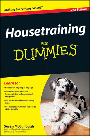 Housetraining For Dummies, 2nd Edition