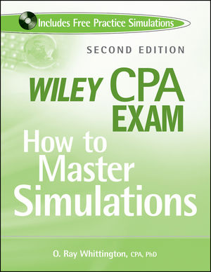 Wiley CPA Exam: How to Master Simulations, 2nd Edition (0470505370) cover image