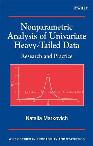 Nonparametric Analysis of Univariate Heavy-Tailed Data: Research and Practice (0470510870) cover image