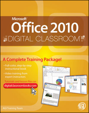 Microsoft Office 2010 Digital Classroom, (Book and Video Training) (0470577770) cover image