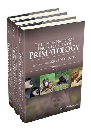 The International Encyclopedia of Primatology, 3 Volume Set
