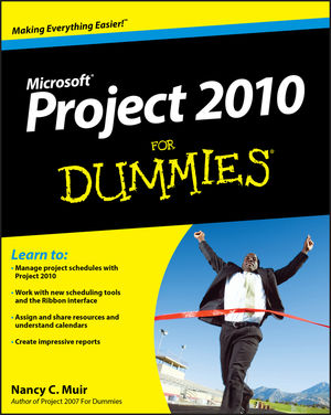 Project 2010 For Dummies (0470871970) cover image