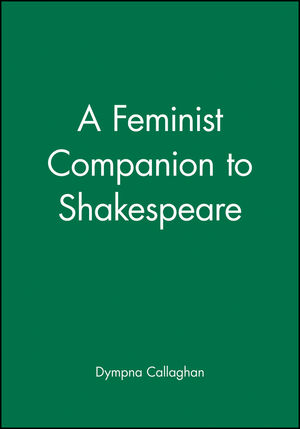 A Feminist Companion to Shakespeare (0631208070) cover image