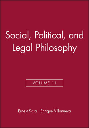 Social, Political, and Legal Philosophy, Volume 11