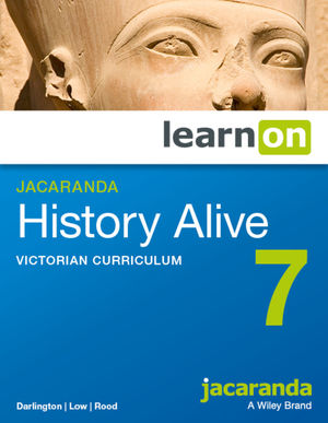 Jacaranda History Alive 7 Victorian Curriculum LearnOn (Online Purchase)