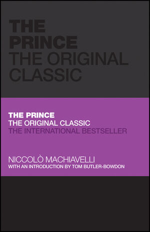 The Prince: The Original Classic (0857080970) cover image