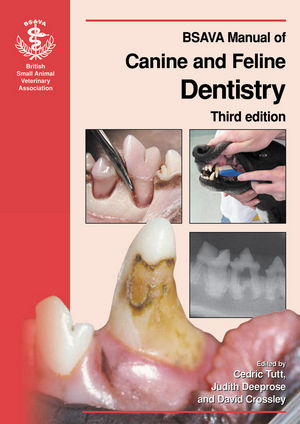 BSAVA Manual of Canine and Feline Dentistry, 3rd Edition (0905214870) cover image