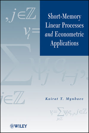 Short-Memory Linear Processes and Econometric Applications (1118007670) cover image