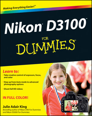 Nikon D3100 For Dummies (1118025970) cover image