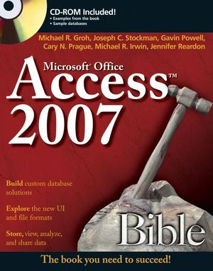 Access 2007 Bible (1118050770) cover image