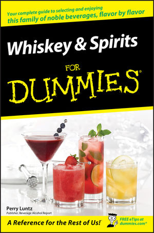 Whiskey and Spirits For Dummies (1118051270) cover image