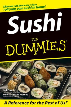 Sushi For Dummies (1118053370) cover image