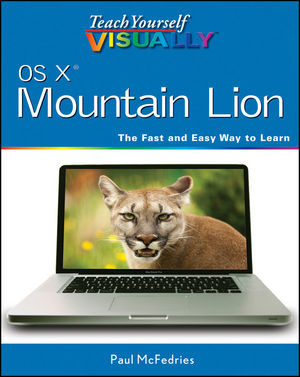 Teach Yourself VISUALLY OS X Mountain Lion (1118462270) cover image