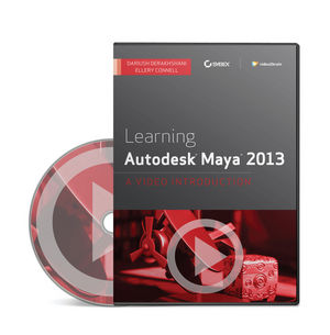 Learning Autodesk Maya 2013: A Video Introduction (1118465970) cover image