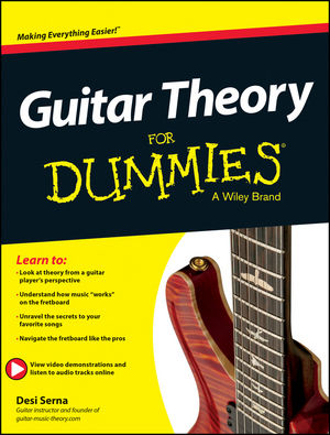 wiley guitar theory for dummies book online video audio instruction desi serna. Black Bedroom Furniture Sets. Home Design Ideas