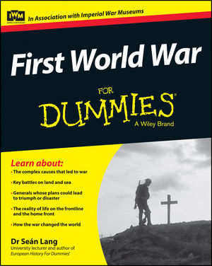 First World War For Dummies (1118679970) cover image