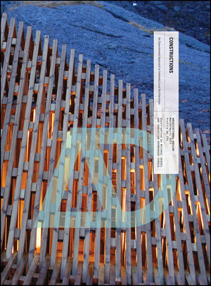Constructions: An Experimental Approach to Intensely Local Architectures (1118700570) cover image