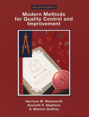 Modern Methods For Quality Control and Improvement, 2nd Edition (1119084970) cover image