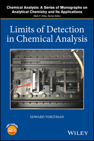 Limits of Detection in Chemical Analysis (1119188970) cover image